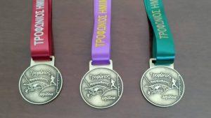 Το συλλεκτικό μετάλλιο, φιλοτέχνησε η Δήμαρχος Λεβαδέων κ. Γιώτα Πούλου